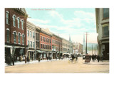 Center Street, Rutland, Vermont Posters