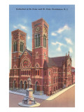 Cathedral, Providence, Rhode Island Posters