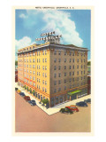 Hotel Greenville, Greenville, South Carolina Posters