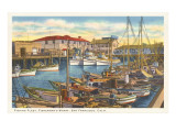 Fisherman's Wharf, San Francisco, California Prints