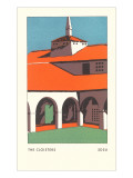 The Cloisters, SDSU, San Diego, California Print
