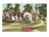 El Encanto Hotel, Santa Barbara, California Prints
