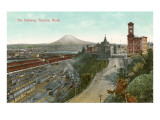 Railyards, Tacoma, Washington Posters