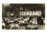 Dining Room, Hotel del Coronado, San Diego, California Posters