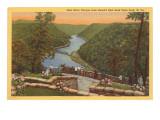 New River Canyon, West Virginia Kunstdrucke