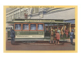 Cablecar, San Francisco, California Poster