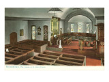 Interior, St. John's Church, Richmond, Virginia Prints