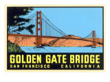 Golden Gate Bridge, San Francisco, California Posters
