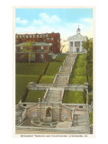 Monument Terrace, Lynchburg, Virginia Posters