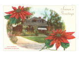 Craftsman Bungalow, Santa Barbara, California Posters
