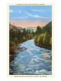 Laramie River, Woods Landing, Wyoming Print