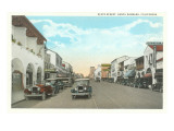 State Street, Santa Barbara, California Prints