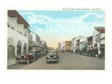 State Street, Santa Barbara, California Prints