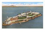 Alcatraz Island, San Francisco, California Posters