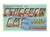 Greetings from Sturgeon Bay, Wisconsin Prints