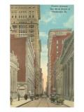 Fourth Avenue, Pittsburgh, Pennsylvania Poster