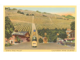 Santa Ynez Valley Wine Country, California Prints