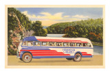 American Bus Lines Bus Posters