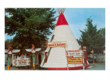 Tepee Tourist Trap Prints