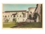 Courthouse, Santa Barbara, California Prints