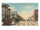 North Eighth Street, Sheboygan, Wisconsin Kunstdrucke