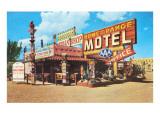 Home on the Range, motel d'époque Affiches