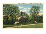 Spanish American War Memorial, Oshkosh, Wisconsin Print