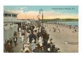 Beach and Boardwalk, Newport, Rhode Island Posters