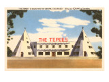 The Tepees Motel Poster