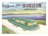 Over the Horizon Vacationer Posters