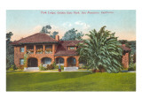 Park Lodge, Golden Gate Park, San Francisco, California Prints
