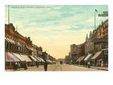 Main Street, Oshkosh, Wisconsin Posters