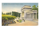 Bandstand, Golden Gate Park, San Francisco, California Posters