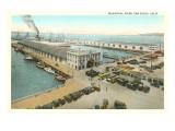Municipal Piers, San Diego, California Posters