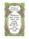 Pledge of Friendship Posters