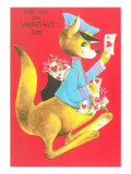 For You on Valentine's Day, Kangaroo Poster
