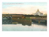 Canal, State House, Providence, Rhode Island Prints