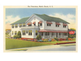 The Poinciana Motel, Myrtle Beach, South Carolina Print