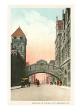 Bridge of Sighs, Pittsburgh, Pennsylvania Prints