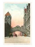 Bridge of Sighs, Pittsburgh, Pennsylvania Prints