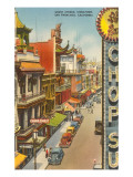 Grant Avenue, Chinatown, San Francisco, California Prints