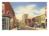 North Church Street, Spartanburg, South Carolina Kunstdrucke