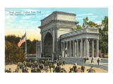 Band Stand, Golden Gate Park, San Francisco, California Prints
