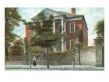 Pringle Mansion, Charleston, South Carolina Poster