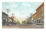 Main Street, Shawano, Wisconsin Poster