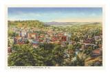 Clarksburg, West-Virginia Poster