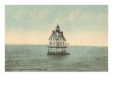 Bullock Point Lighthouse, Rhode Island Prints