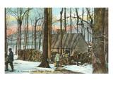 Cabane à sucre d'érable, Vermont Affiches