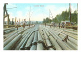 Lumber Scene, Washington Prints