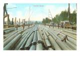 Lumber Scene, Washington Prints